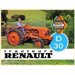 PLAQUE METAL RENAULT