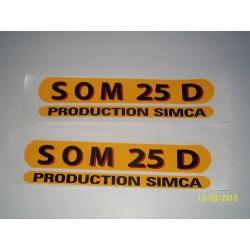 Autocolant Soméca Som 25 D