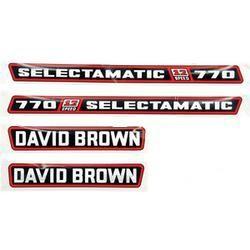 decalques David Brown