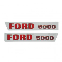 autocollants ford 5000