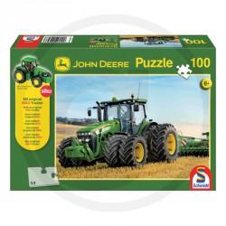 John Deere 8270R avec roues jumelées