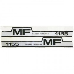 kit autocolant massey ferguson 1155