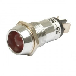 temoin lumineux rouge  12V