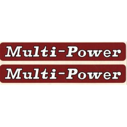 kit autocolant massey ferguson multi power