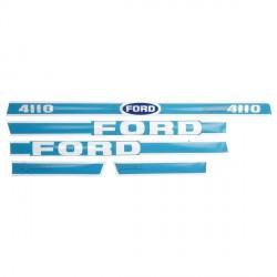 kit autocolant tracteur ford