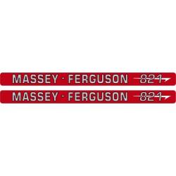 kit autocolant tracteur massey ferguson