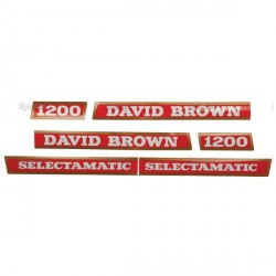 kit autocolant tracteur david brown 1200