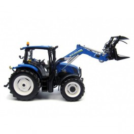 NEW HOLLAND T6.140  Avec chargeur