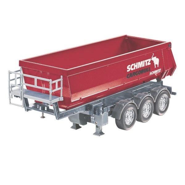 Benne 3 essieux schmitz radiocommand e pour camion rc - Camion benne americain ...