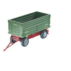 Remorque à Basculement Latéral FORTUNA pour Tracteur Télécommandé