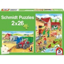 Puzzle ferme