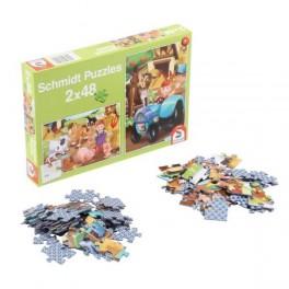 puzzles animaux de la ferme