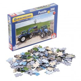 puzzles tracteur New Holland