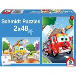 puzzle vehicule