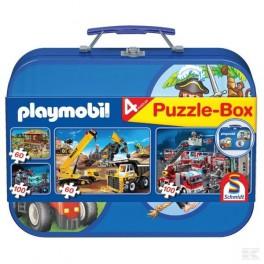 boite puzzle playmobile