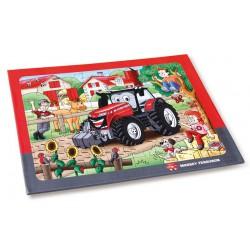 puzzles tracteur Massey Ferguson
