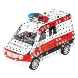 Mercedes Sprinter Ambulance Ech:1/32 492 Piéces par TRONICO
