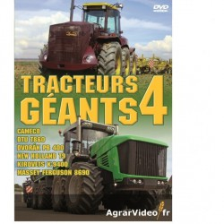 DVD Tracteurs GEANTS 4
