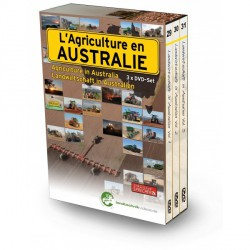 DVD L Agriculture en AUSTRALIE 265 Minutes(3DVD)