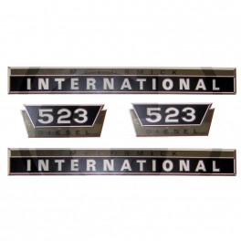 kit autocollants international 523