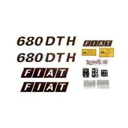Kit autocolant Fiat 680 DTH