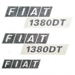 autocolant Fiat 1380 DT