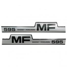 kit autocolant Massey Ferguson 595