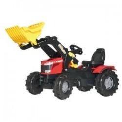 Tracteur pédale Massey Ferguson 8650 avec chargeur
