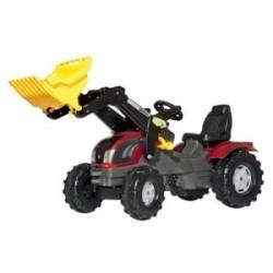 Tracteur pédale Valtra T163 avec chargeur