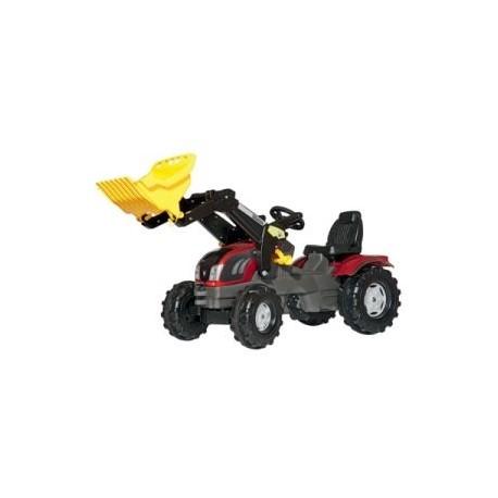 Tracteur pédale valtra avec chargeur