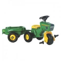 Tracteur pédale John Deere Trike avec remorque
