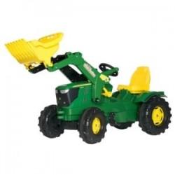 Tracteur pédale John Deere 6210R avec chargeur