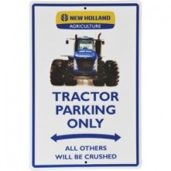 PLAQUES METAL NEW HOLLAND