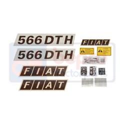 Kit autocolant Fiat 566 DTH