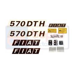 Kit autocolant Fiat 570 DTH