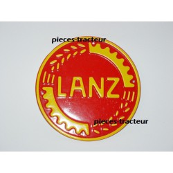 logo tracteur lanz rouge