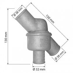 Thermostat tracteur SOMECA