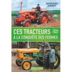 livre Ces tracteurs à la conquête des fermes