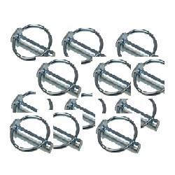 goupille clips diamètre 6 mm longueur 45 mm