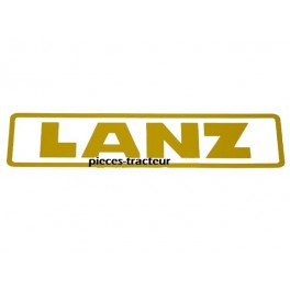autocolant Lanz