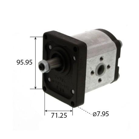 pompe hydraulique Bosch pour tracteur Fiat