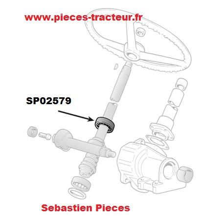 roulement 49.5 X 64.5 X 13.1 pour tracteur Fiat Someca