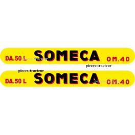 kit autocolant Soméca DA 50 L