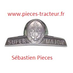 Logo pour tracteur Fordson Super Major