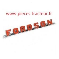 Logo Fordson pour tracteur Fordson
