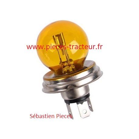 Ampoule jaune pour tracteur lampe jaune