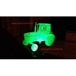 Lamp LED 3D tracteur Style John deere