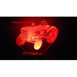 Lamp LED 3D tracteur Style Someca