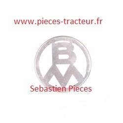 Logo emblem pour tracteur Volvo BM