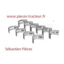 kit coussinets de bielle A4.318 perkins pour tracteur massey ferguson